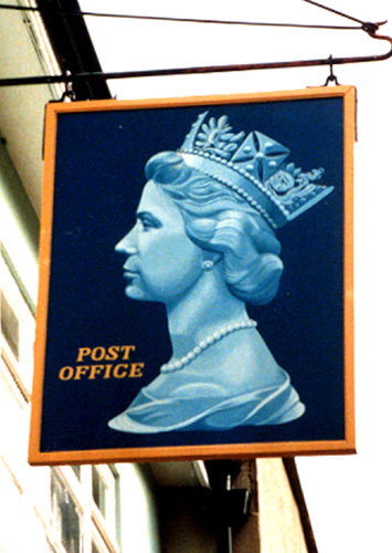jon bentley postage stamp sign